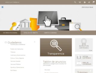 lierganes.sedelectronica.es screenshot