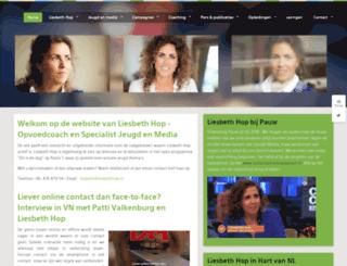 liesbethhop.nl screenshot