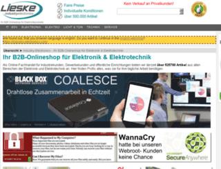 lieske-elektronik.de screenshot