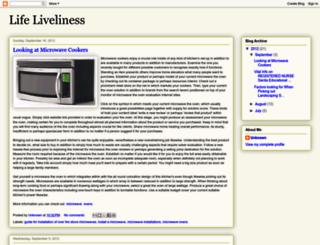 life-liveliness.blogspot.com screenshot