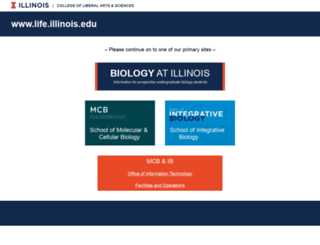 life.uiuc.edu screenshot