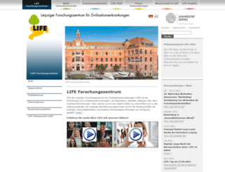 life.uni-leipzig.de screenshot