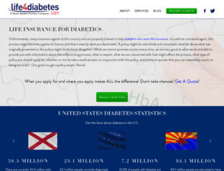 life4diabetes.com screenshot