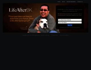 lifeafterbankruptcy.com screenshot