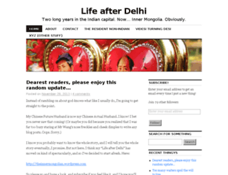 lifeafterdelhi.wordpress.com screenshot