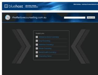 lifeafterlovecounselling.com.au screenshot