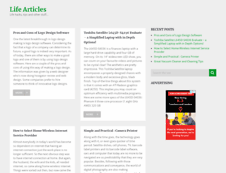 lifearticles.net screenshot