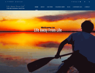 lifeawayfromlife.com screenshot
