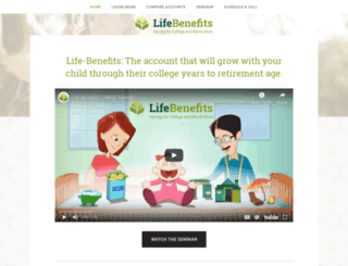 lifebenefitsaccount.com screenshot