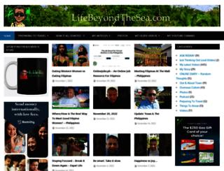 lifebeyondthesea.com screenshot