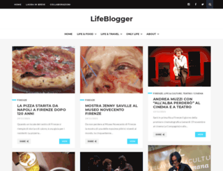 lifeblogger.it screenshot