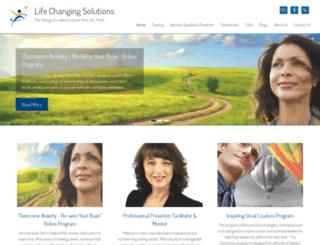 lifechangingsolutions.com.au screenshot