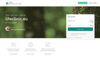 lifeclinic.eu screenshot