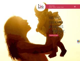 lifeclinicivf.com screenshot