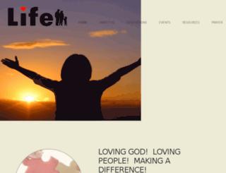 lifecommunitychurch-preview.cloversites.com screenshot