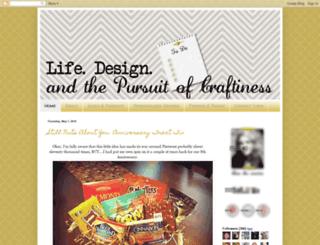lifedesigncraft.blogspot.com screenshot