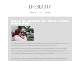 lifeever.yolasite.com screenshot