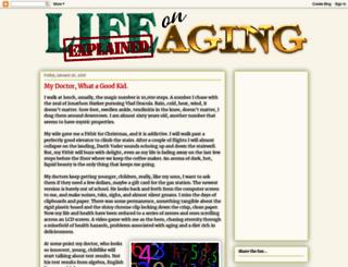 lifeexplainedexplainsaging.blogspot.com.au screenshot