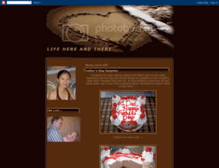 lifehereandthere08.blogspot.com screenshot