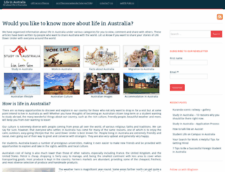 lifeinaustralia.com.au screenshot