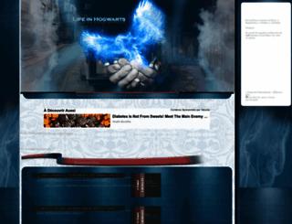 lifeinhogwarts.foroactivo.com screenshot