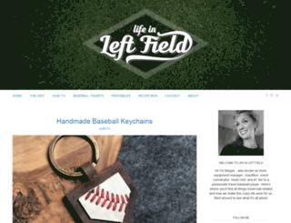 lifeinleftfield.com screenshot