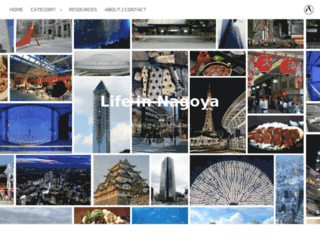 lifeinnagoya.com screenshot