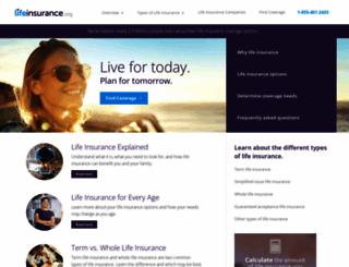 lifeinsurance.org screenshot