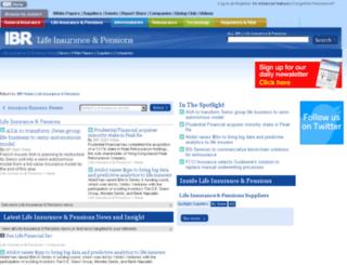 lifeinsuranceandpensions.insurance-business-review.com screenshot