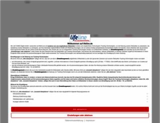 lifeline.de screenshot