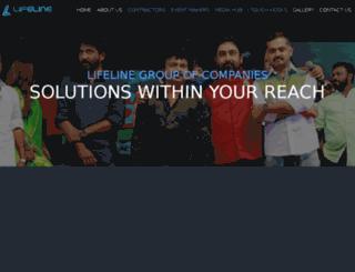 lifelinegroups.in screenshot
