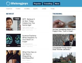 lifelongjoys.com screenshot