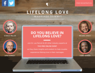 lifelonglovesummit.com screenshot