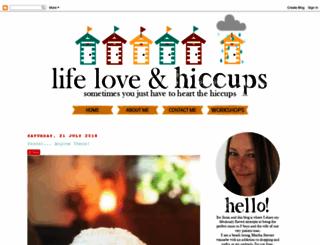 lifeloveandhiccups.blogspot.com.au screenshot