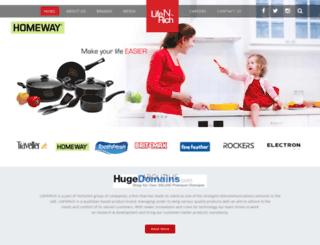 lifenrichbrands.com screenshot