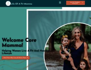lifeofafitmomma.com screenshot