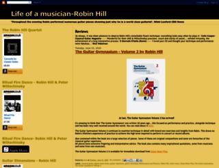 lifeofamusician-robinhill.blogspot.com screenshot
