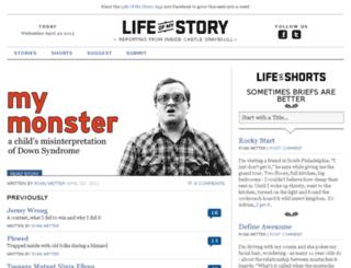 lifeofmystory.com screenshot