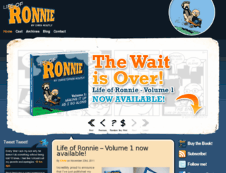 lifeofronnie.com screenshot