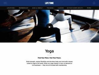 lifepoweryoga.com screenshot