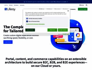 liferay.com screenshot