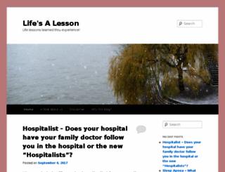 lifesalesson.com screenshot