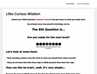 lifescuriouswisdom.com screenshot