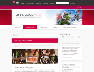 lifesgoodness.com screenshot
