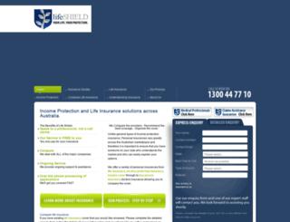 lifeshield.com.au screenshot