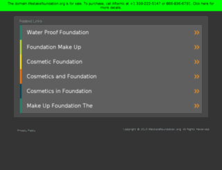 lifestakefoundation.org screenshot