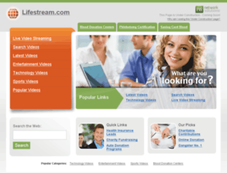 lifestream.com screenshot