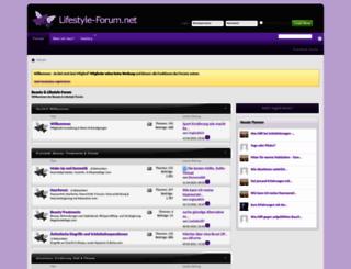 lifestyle-forum.net screenshot