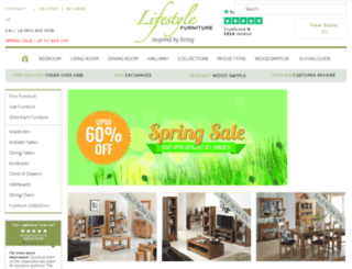 lifestyle-furnitureuk.com screenshot