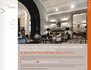 lifestyle-hotels.ch screenshot